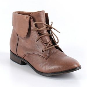 Steve Madden Tan Leather Booties